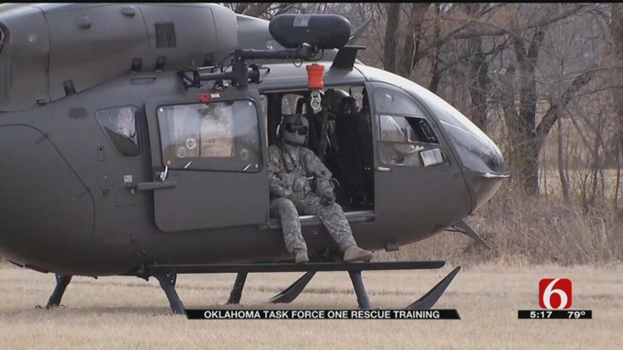 Oklahoma Task Force Gets Real-World Training