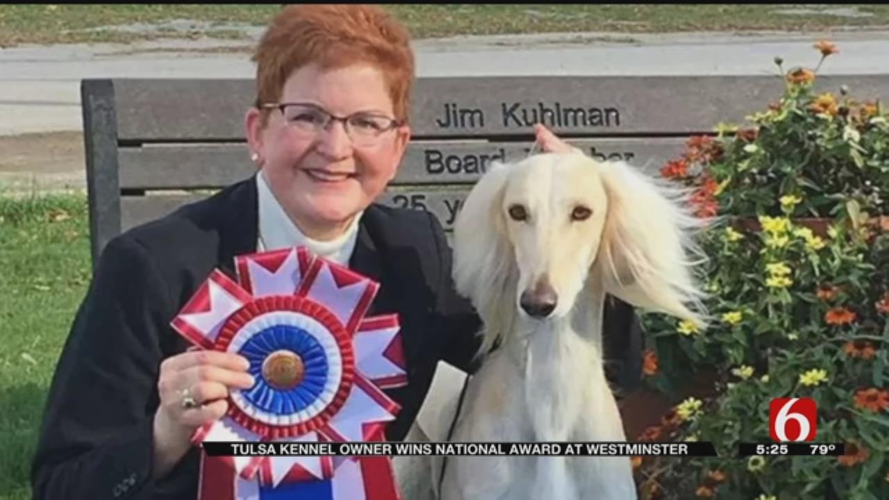 Award-Winning Tulsa Dog Shares Name With British Icon