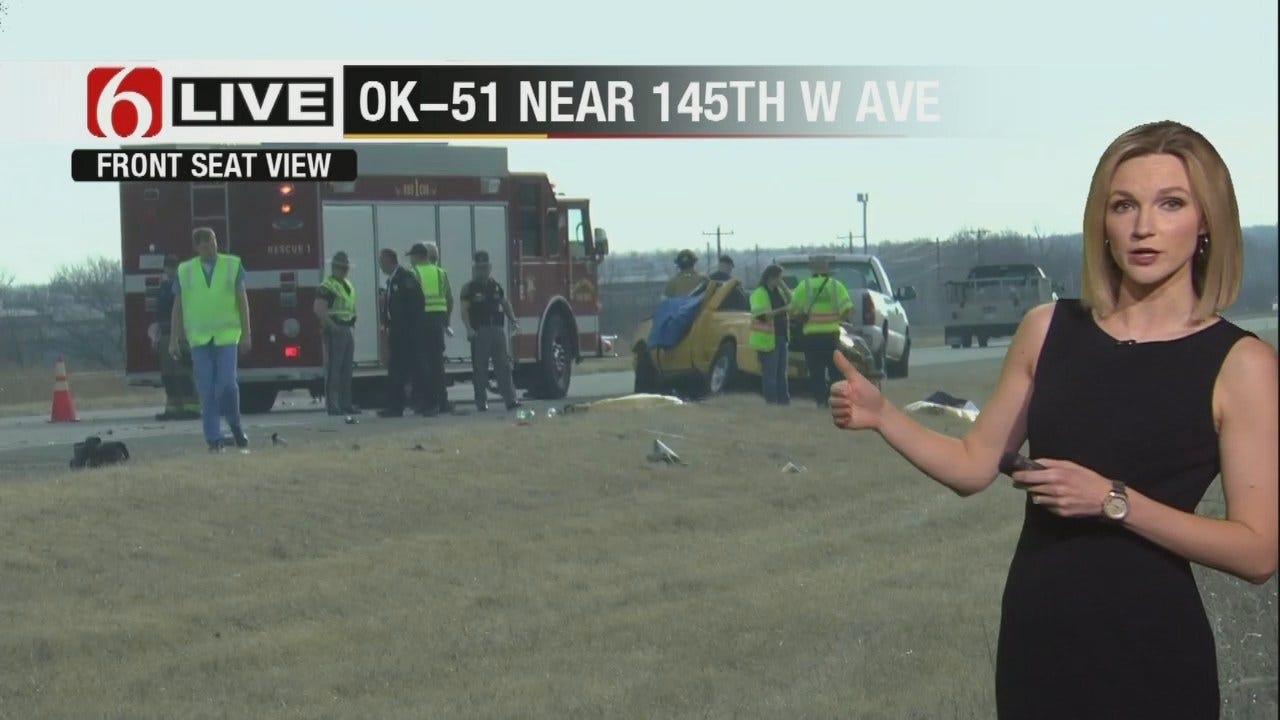 One Killed In Crash West Of Sand Springs