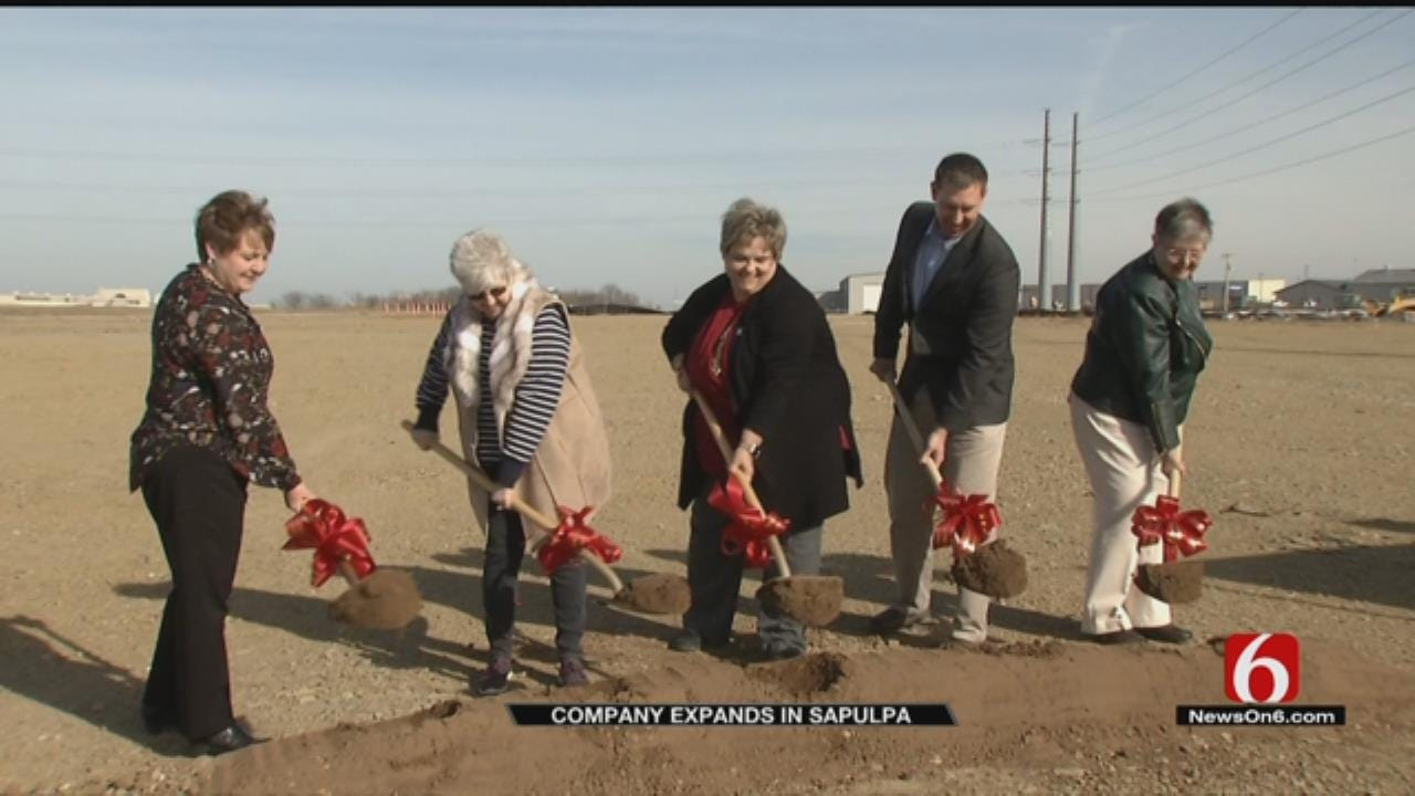 Flight Simulator Company Breaks Ground On New Facility In Sapulpa