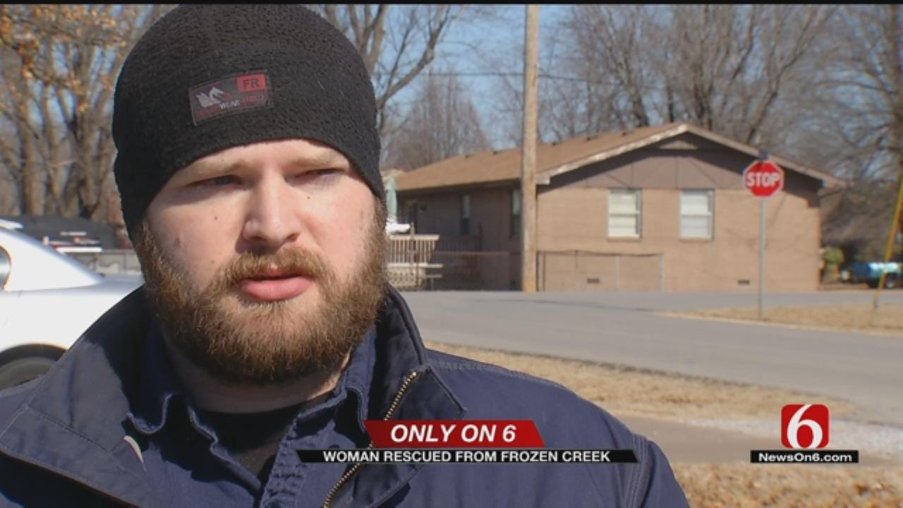 Rogers County Woman Rescued From Freezing Creek
