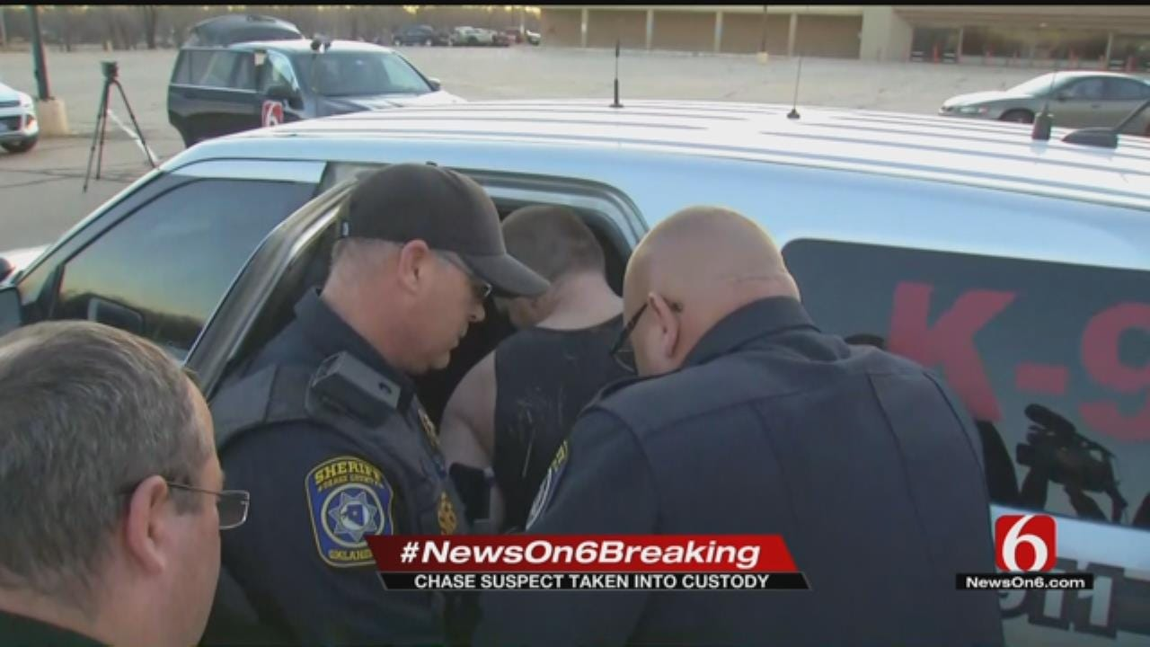Man Arrested For Osage, Pawnee Counties Crime Spree