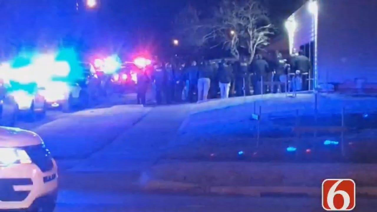 Dave Davis Reports On Tulsa Police Honor Guard Procession