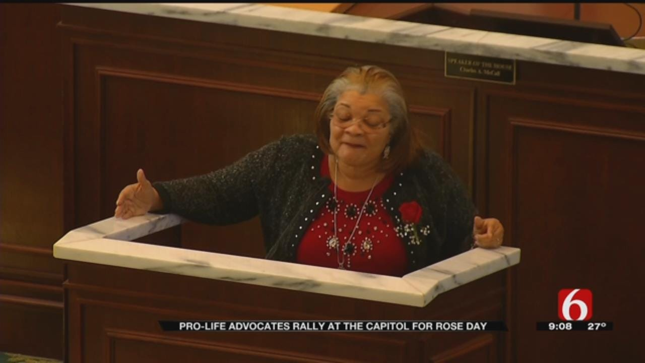 Niece Of Martin Luther King Jr. Gives Speech At State Capitol