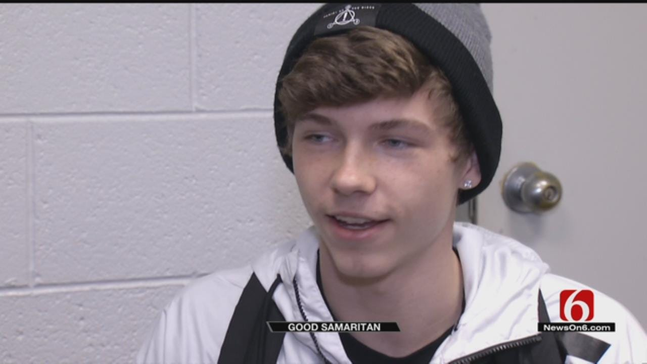 Glenpool Student Being Hailed A Hero After Helping Injured Teen