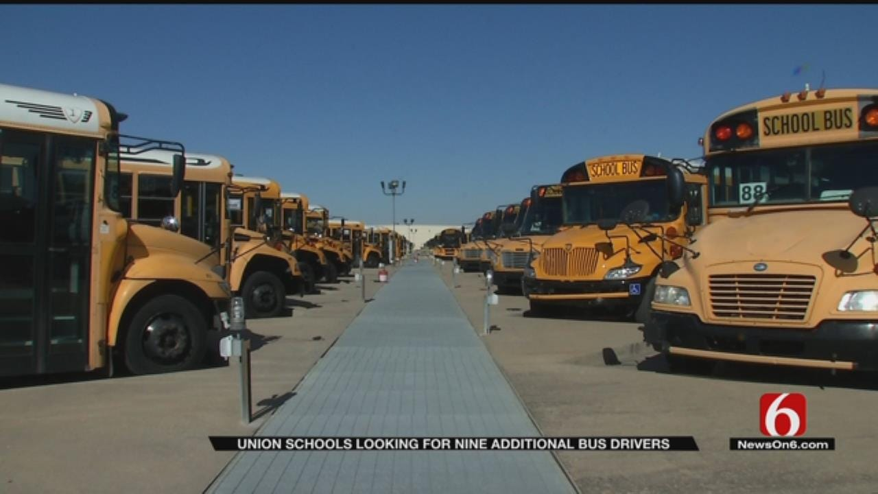 Union School District Searching For Bus Drivers