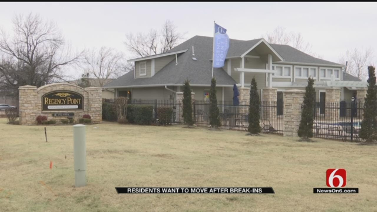 Tulsa Woman Says Apartment Could've Prevented Break-Ins