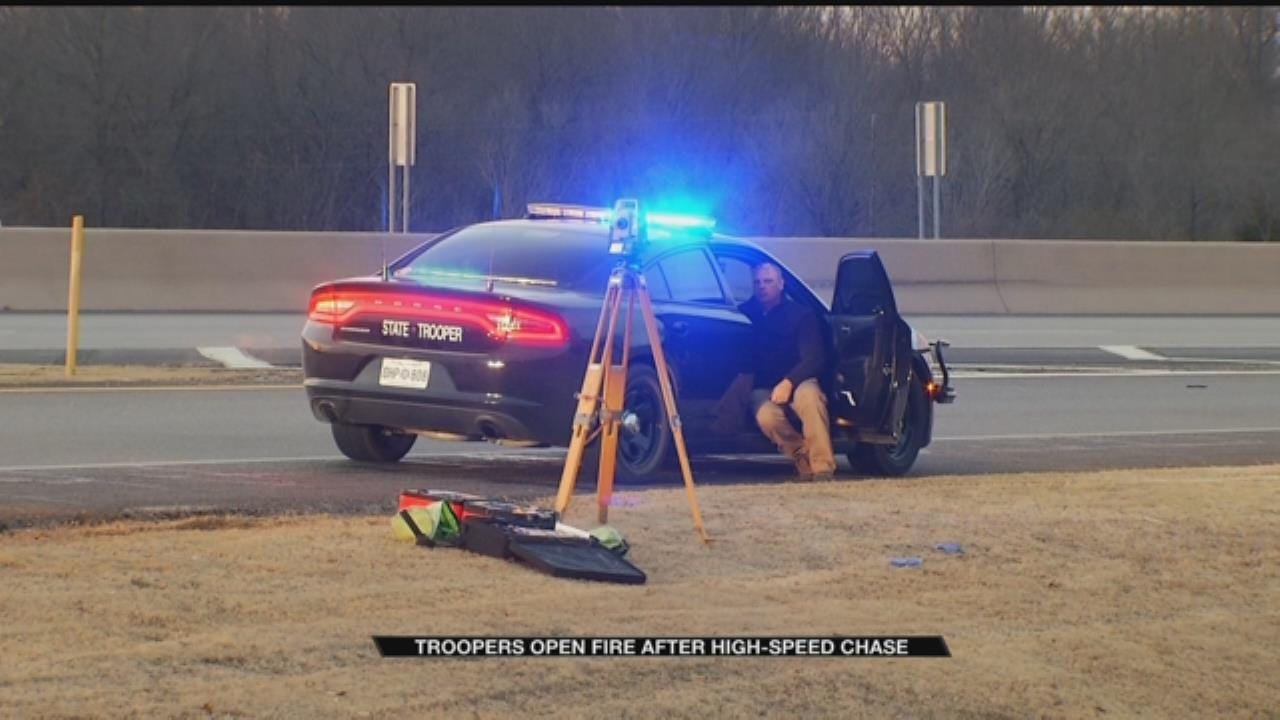 OHP: Man Arrested Following Chase, Officer-Involved Shooting