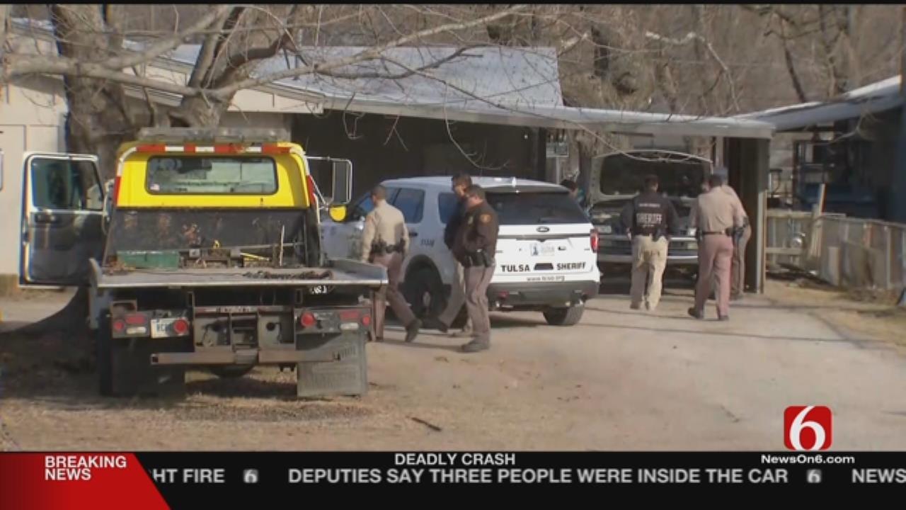 Homemade Bomb Found Near Kids In Tulsa Home