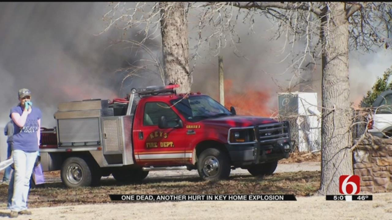 One Killed, One Flown To Hospital After Cherokee County Fire
