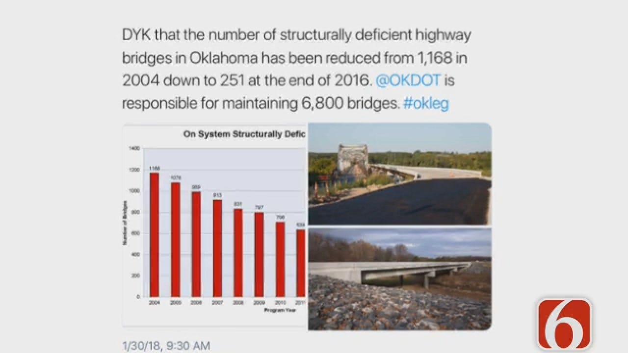 Dave Davis Reports On Oklahoma's Bridge Replacement Efforts
