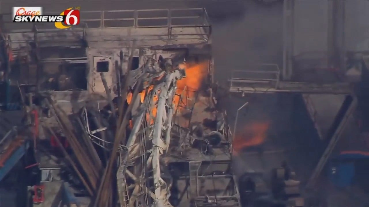 Osage SkyNews 6: Pittsburg Gas Drilling Rig Explosion