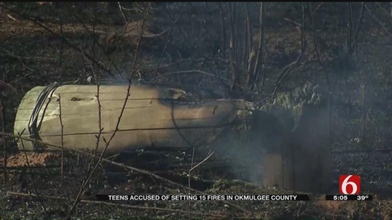 Okmulgee County Teens Suspected Of Setting Wildfires