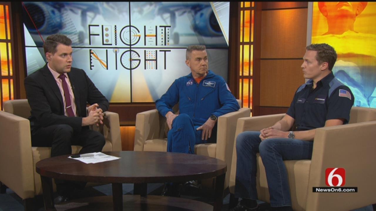 Retired Astronaut Discusses Tulsa's Flight Night Space Week