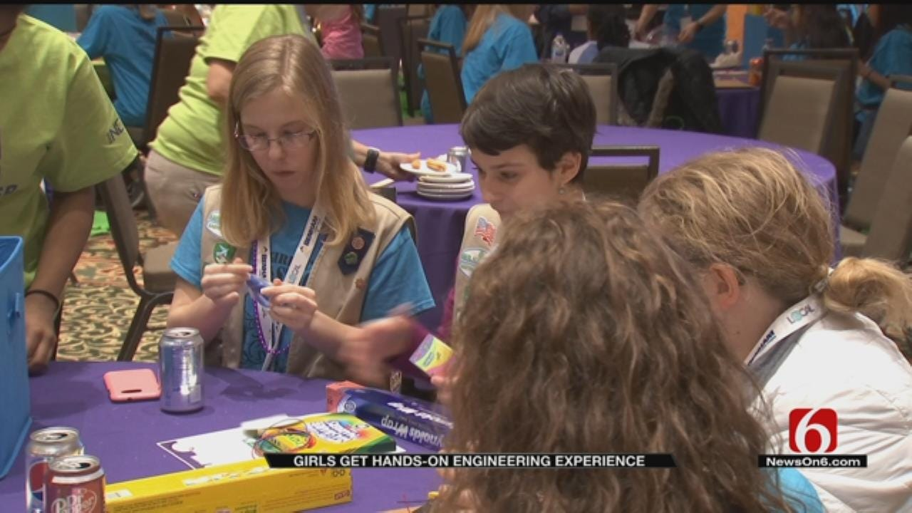 Society Of Women Engineers Inspires Area Students