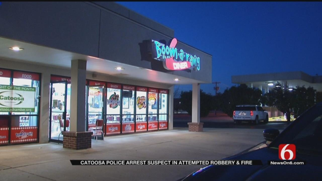 Would-Be Thief Tries To Melt Open Safe At Catoosa Restaurant