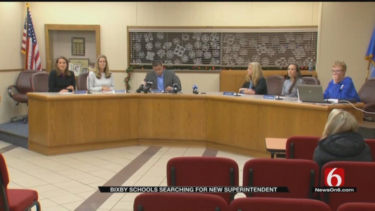 Bixby School Board Wants Input In Search For Superintendent