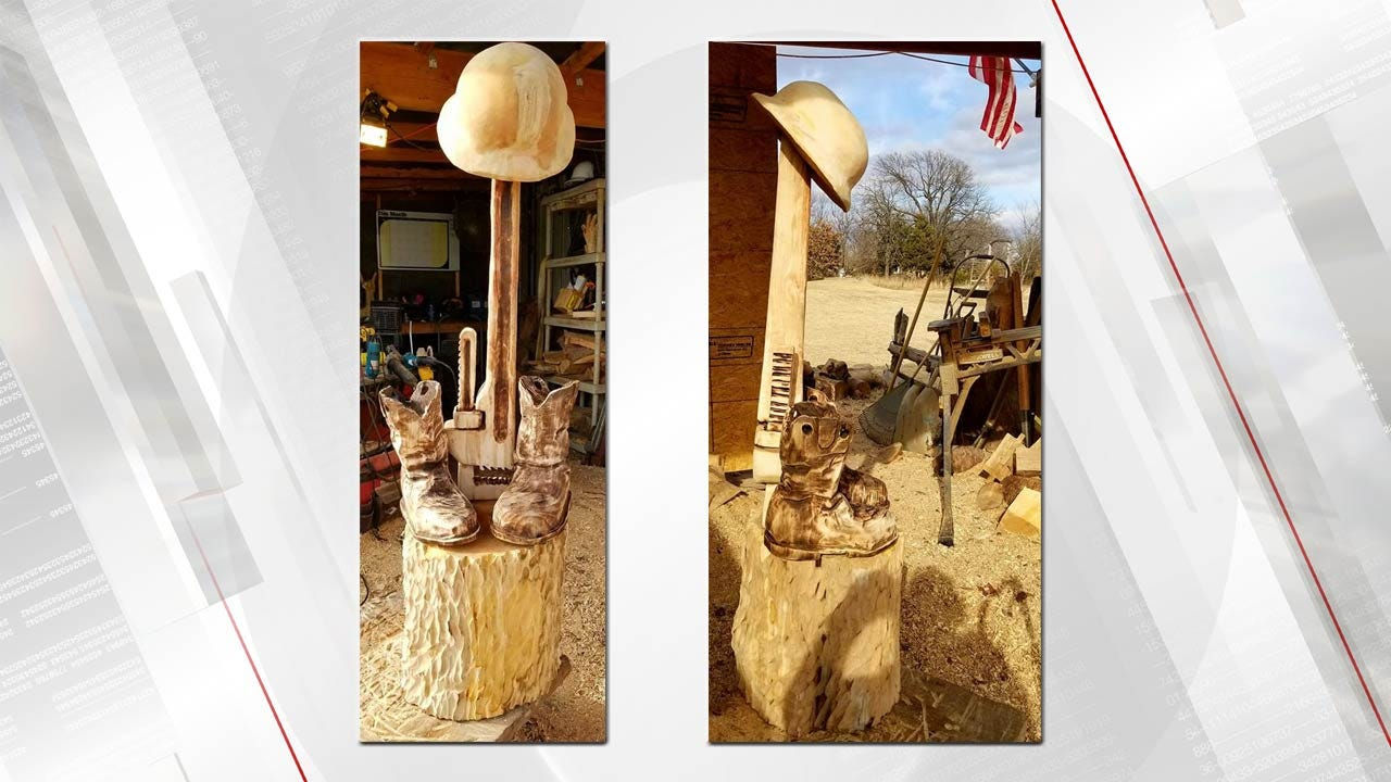 Pawnee County Man Honors Explosion Victims With Wood Art