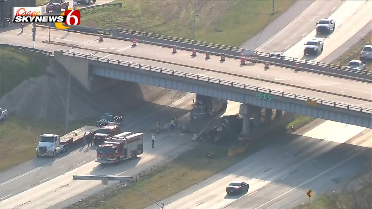 Repairs To Close Highway Bridge Between Tulsa And Sand Springs