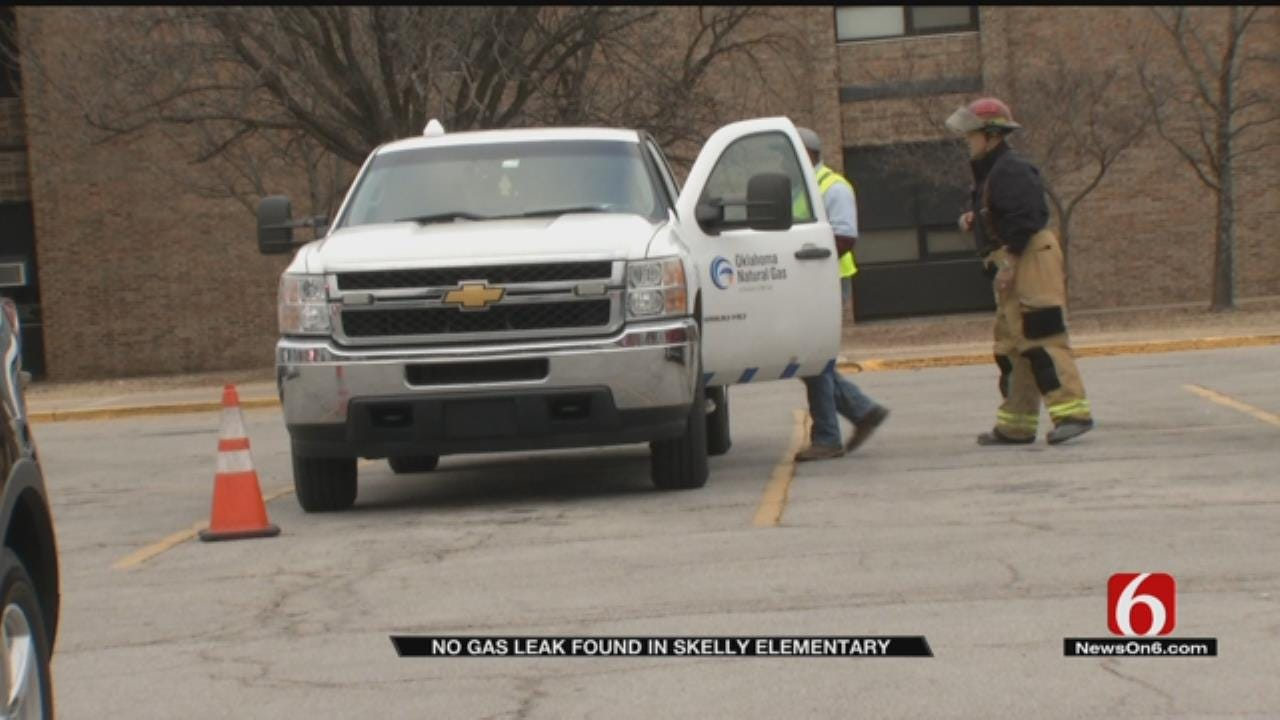 Tulsa Firefighters Give All Clear At Skelly Elementary