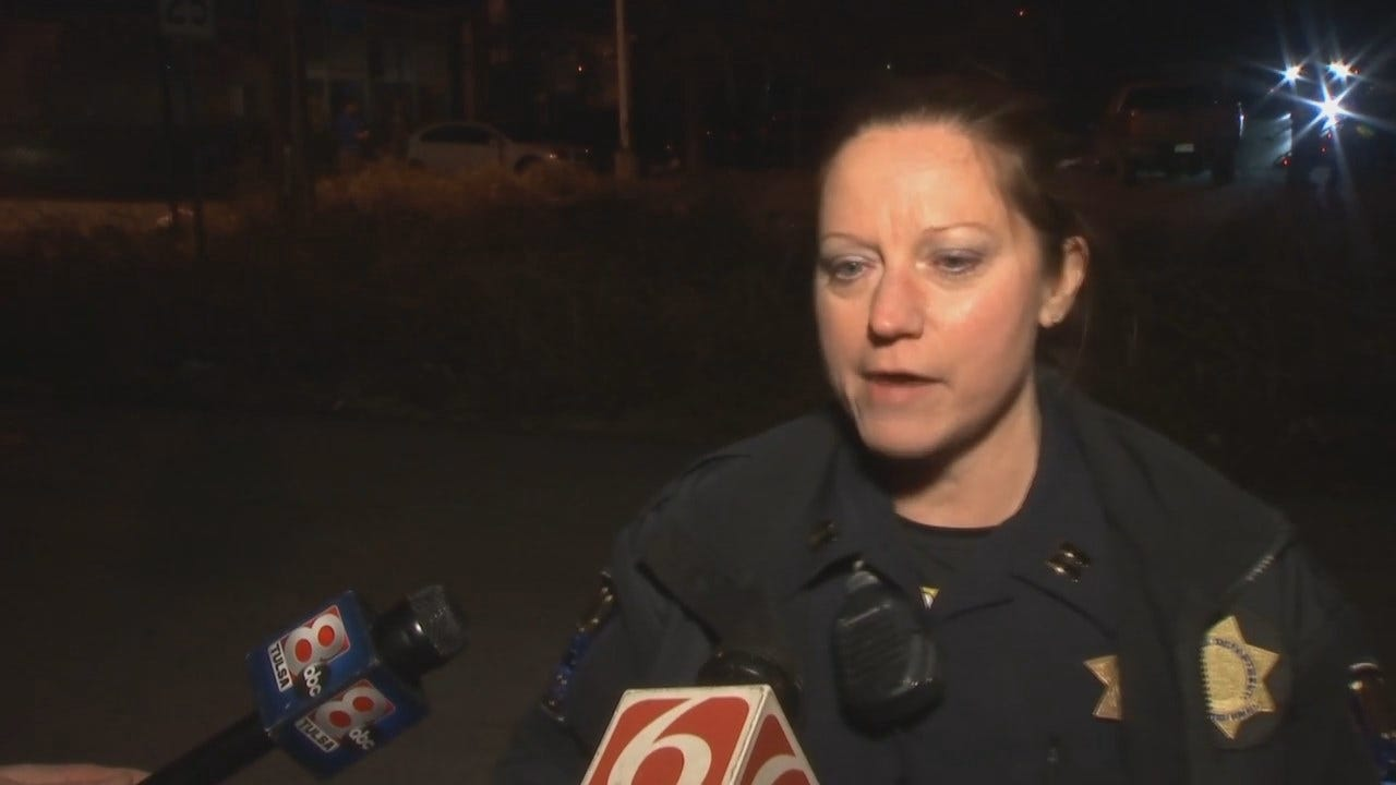 WEB EXTRA: Tulsa Police Captain Shellie Seibert Talks About The Incident