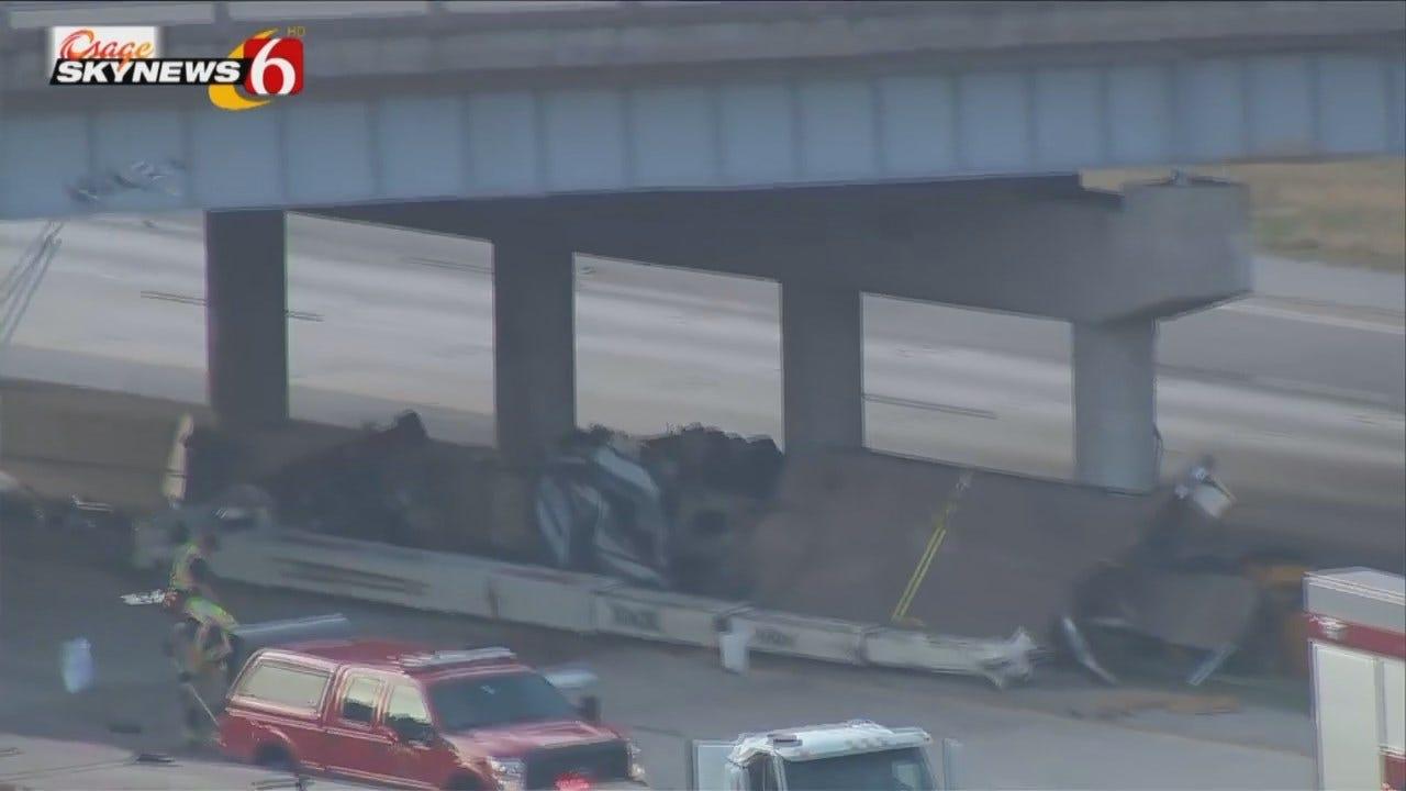 WEB EXTRA: Osage SkyNews 6 HD Video Of Bridge Damage