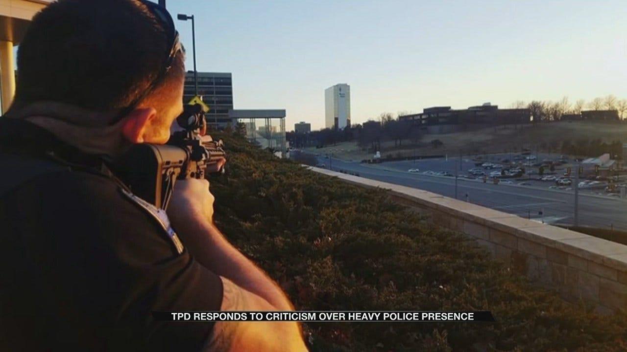 Police Explain Response To Suicidal Man Outside Tulsa Hospital