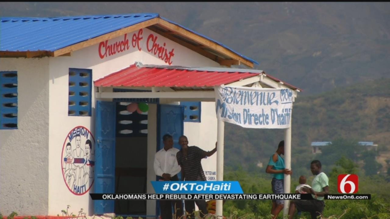 Oklahomans Help Rebuild Haitian Village Years After Devastating Quake