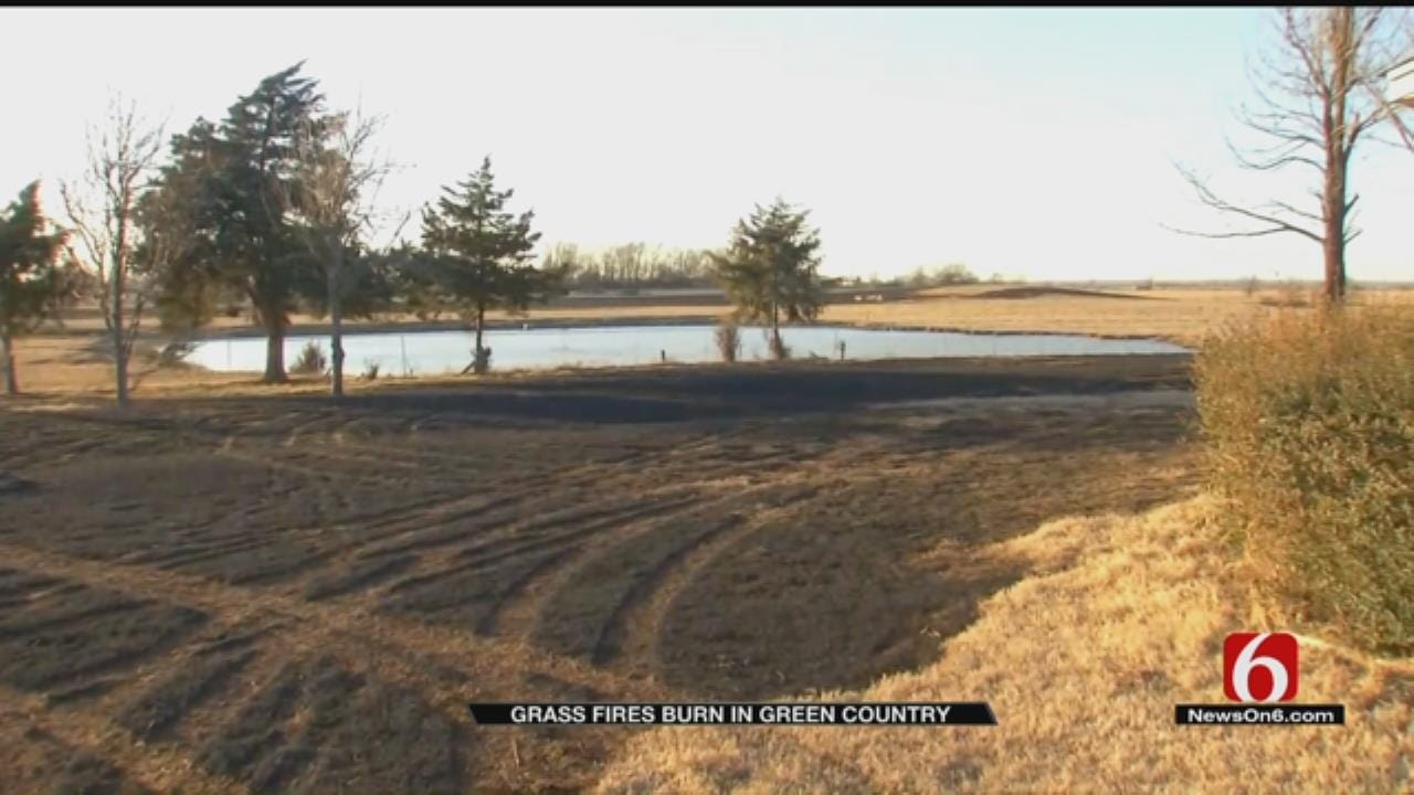 Mayes County Wildfire Doused After Quick Response By Crews