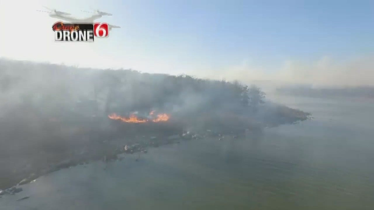 Osage County Fires Burn Thousands Of Acres