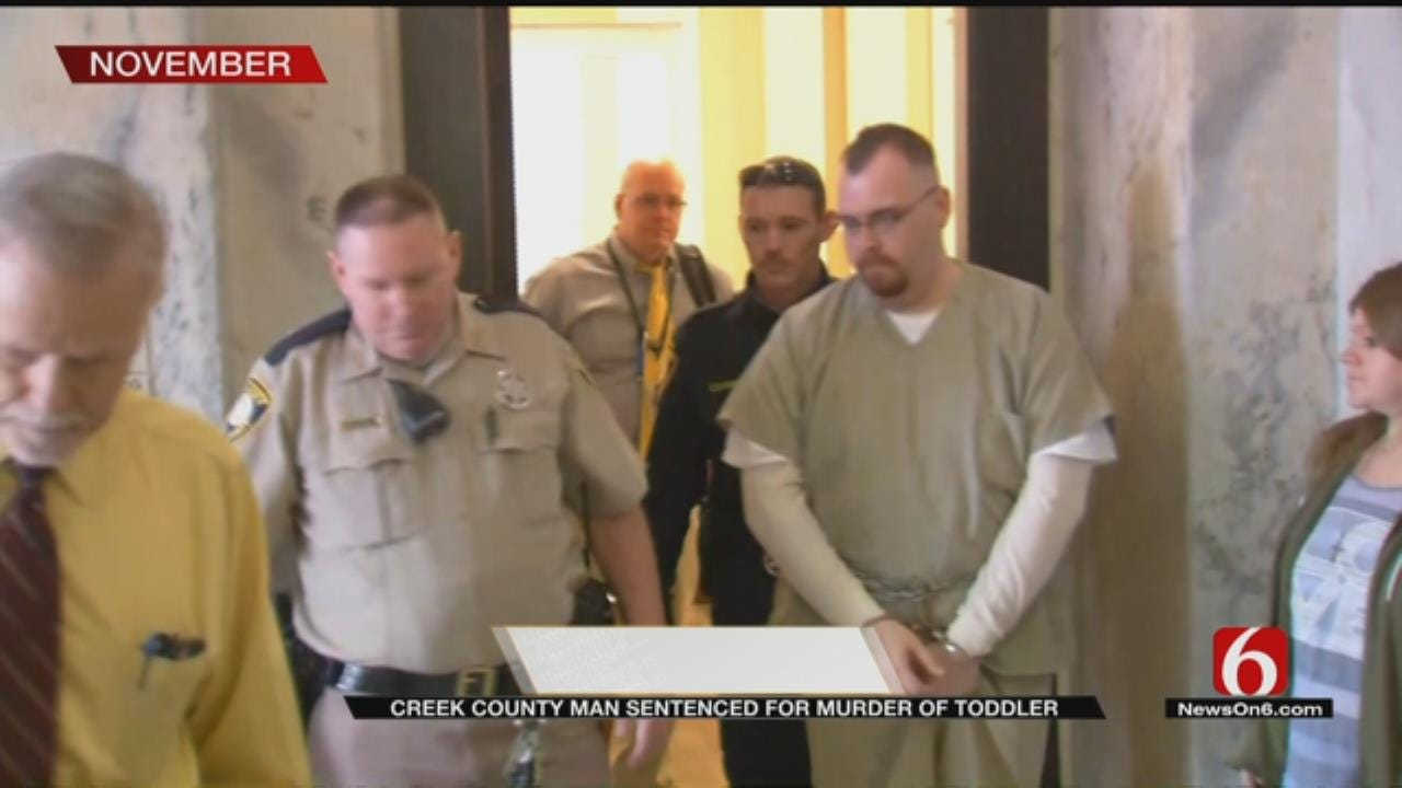 Sapulpa Man Sentenced To Life In Prison For Death Of Toddler