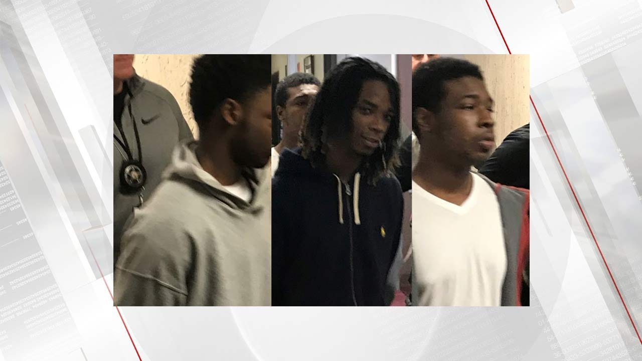 Tulsa Police Arrest 14, 17, 18 Year Olds For Robbery, Shooting