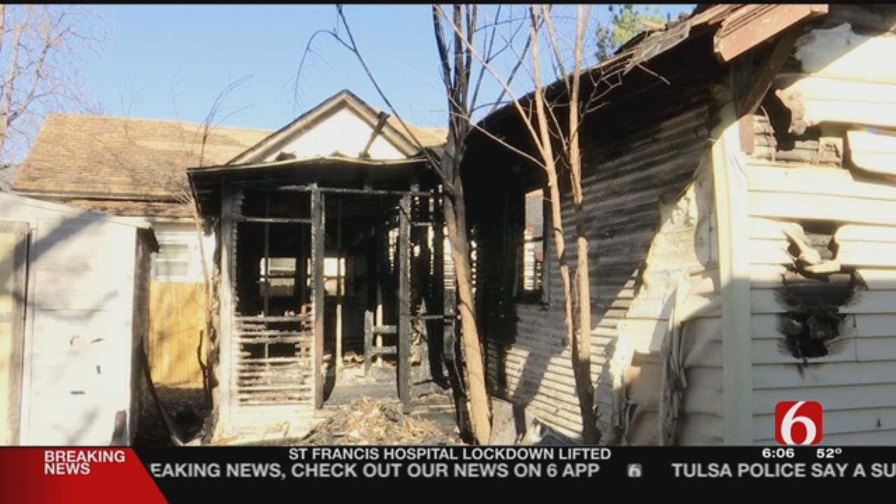 Arson Suspected In Bartlesville House Fire
