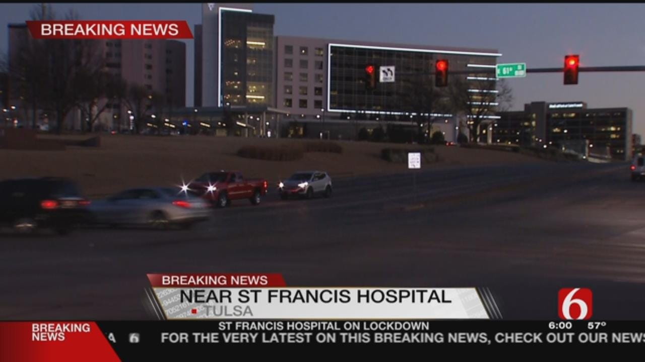 St. Francis Locked Down Due To Suicidal Subject