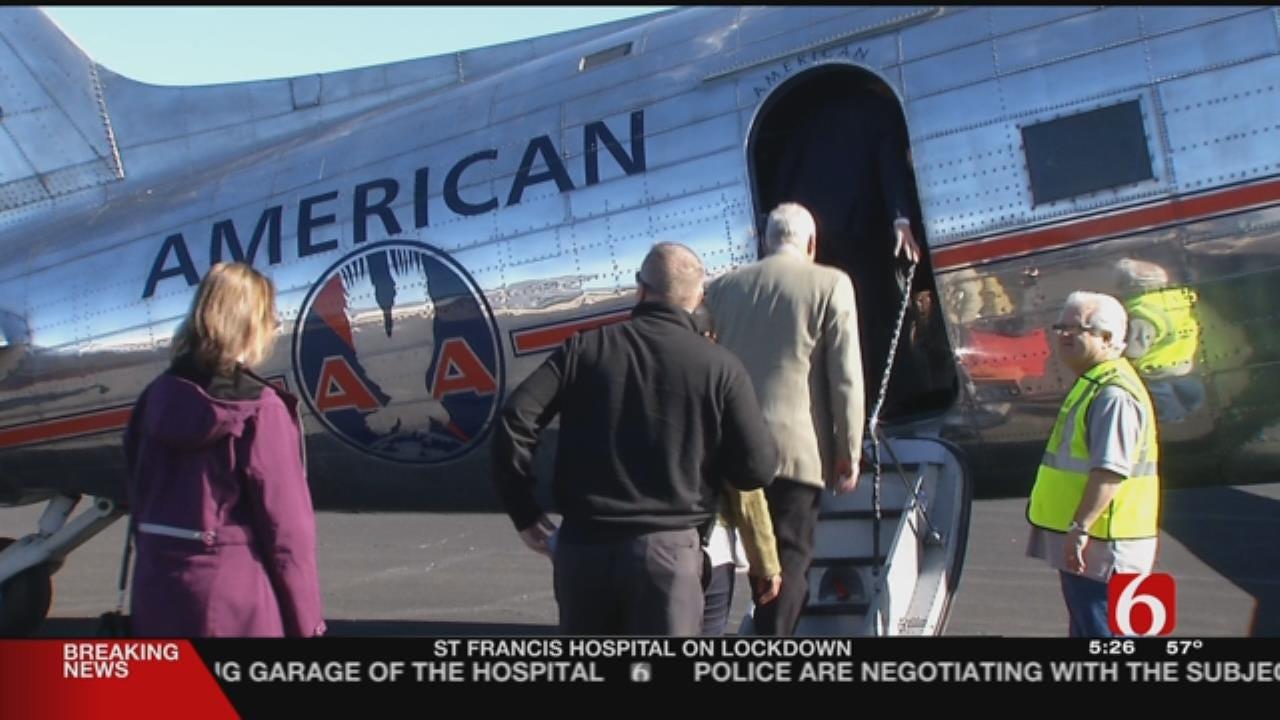 Senior Star Employees Get Surprise Ride On Classic Plane In Tulsa