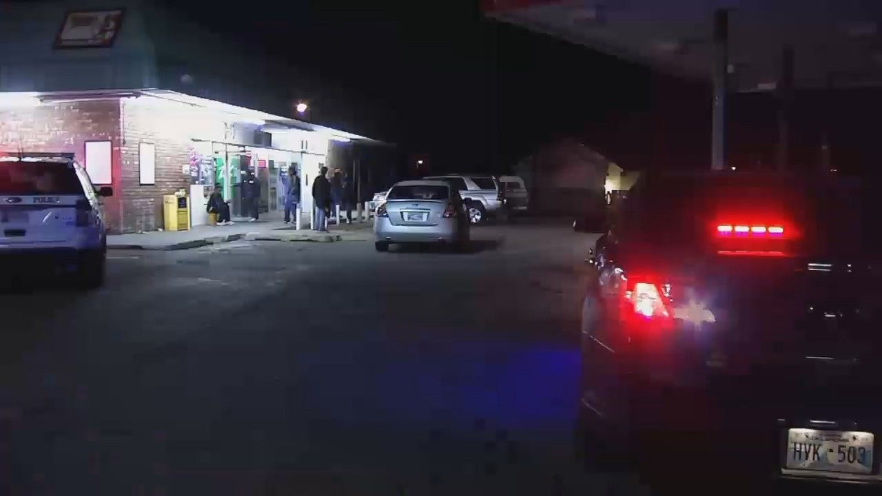 WEB EXTRA: Video From Scene Of Tulsa Convenience Store Shooting
