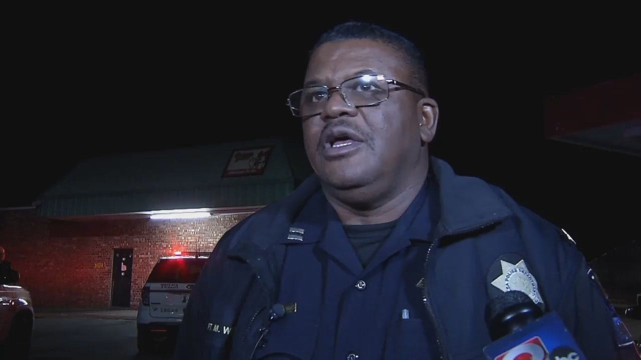 WEB EXTRA: Tulsa Police Captain Mike Williams Talks About The Robbery