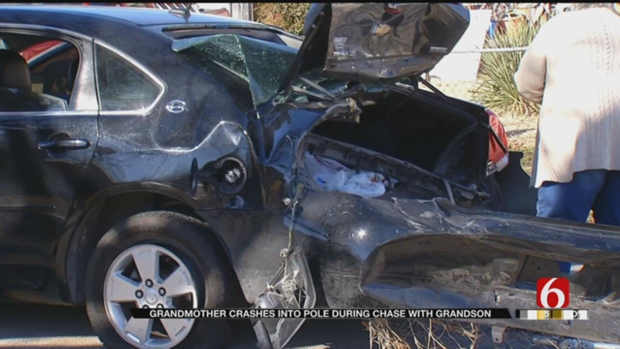 Woman Says Grandson Stole Her Car, Resulting In Chase