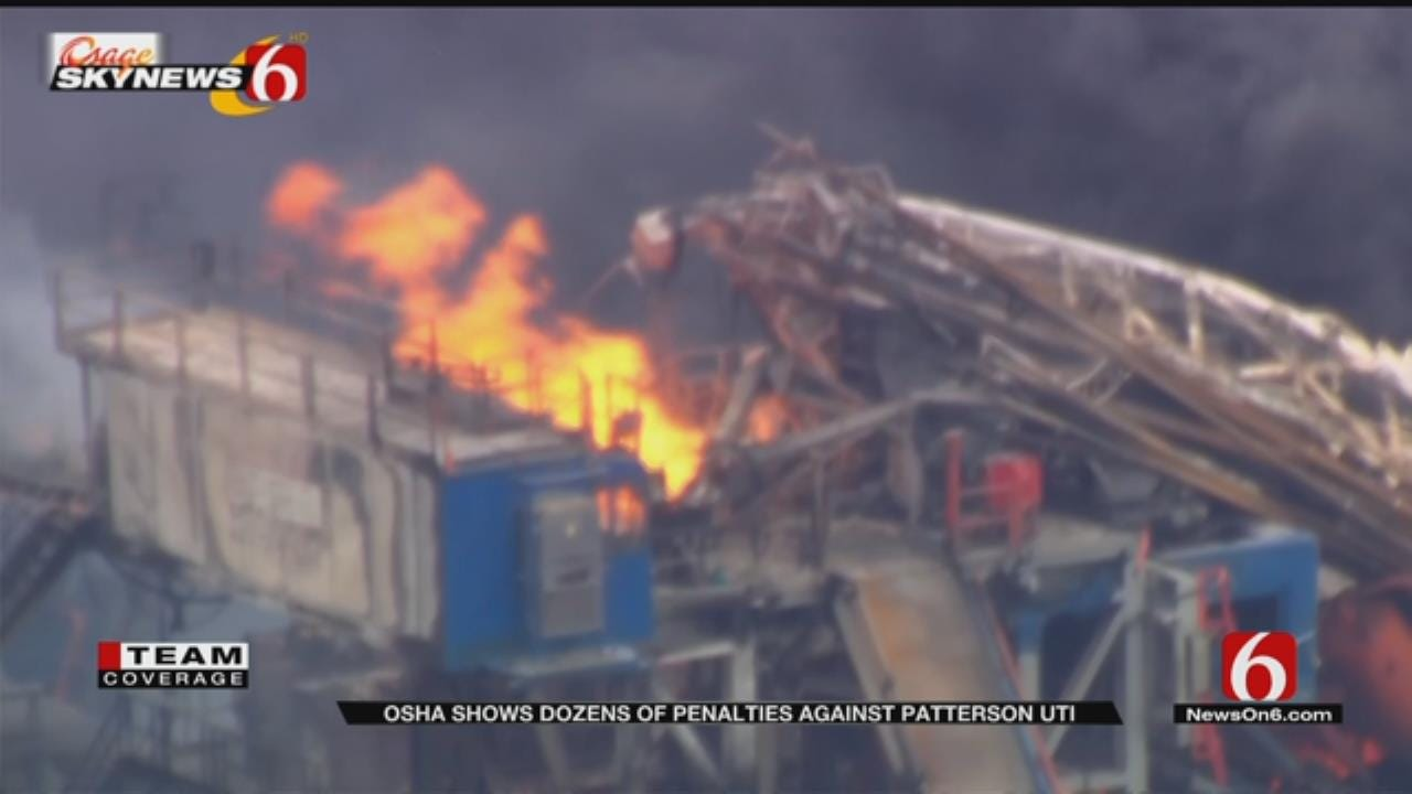 OSHA Database Shows Previous Penalties For Quinton Drilling Company
