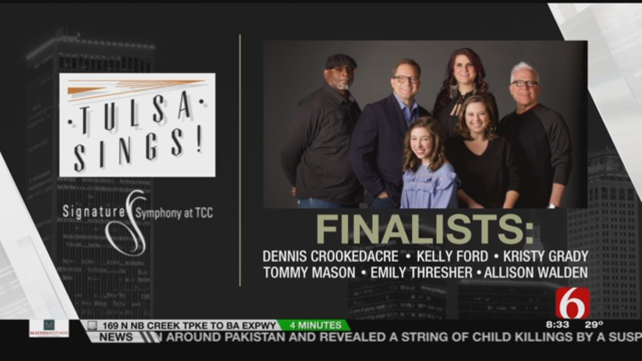 6 Finalists Announced In Signature Symphony Tulsa Sings Contest