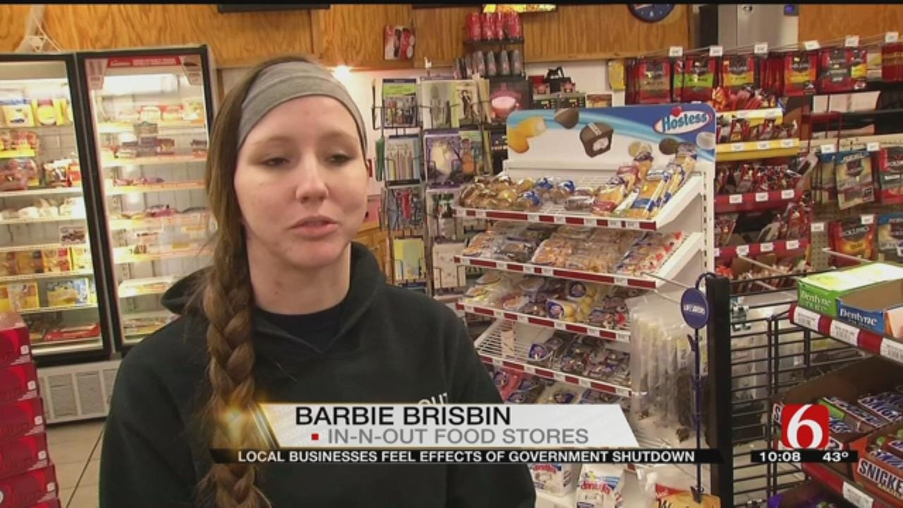 Green Country Businesses Talk Impact Of Government Shutdown