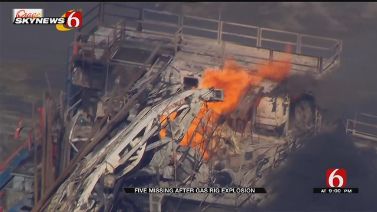 5 Missing In Pittsburg County Drilling Rig Explosion Presumed Dead