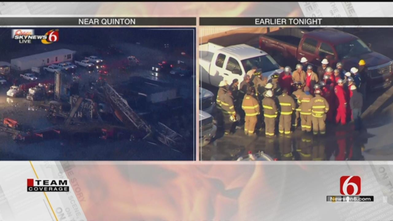 Houston Well Control Company Responds To Quinton Drilling Rig Fire
