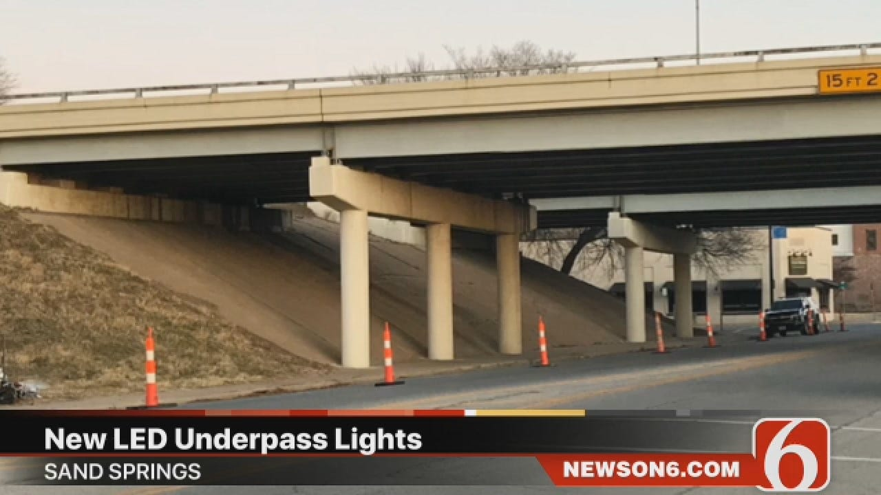 Joseph Holloway Says Multi-Colored LED Lights To Be Installed At Sand Spring Bridge
