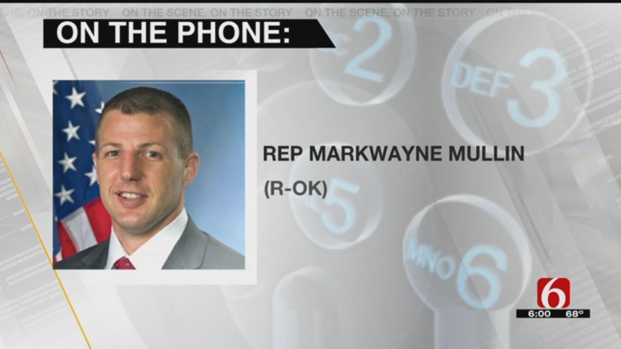 Congressman Mullin Reacts To Government Shutdown