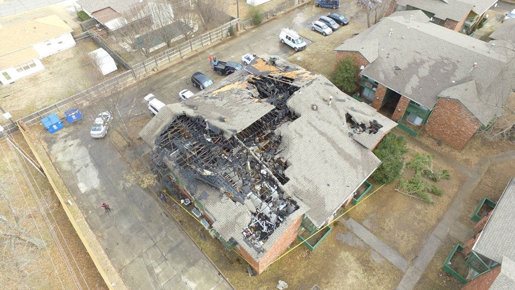Young Girl In Hospital After Muskogee Apartment Fire