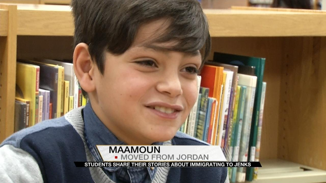 Jenks Students Share Stories Of Immigrating To America