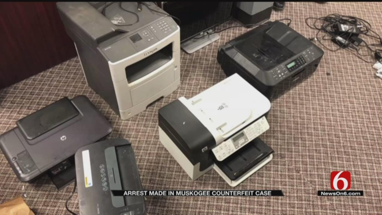 Muskogee Man Arrested For Making Counterfeit Money