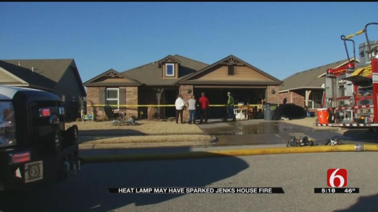 Jenks Neighborhood Sees Second House Fire In A Week