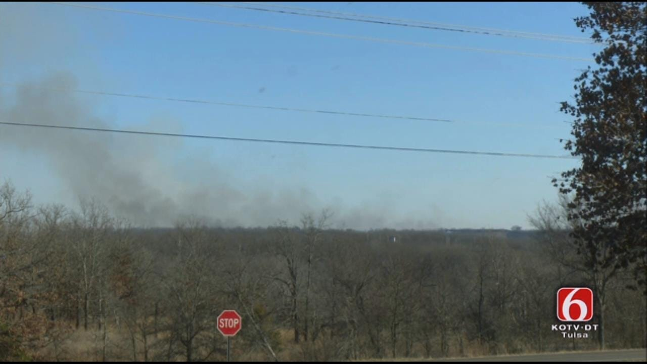 WEB EXTRA: Muskogee County Fire